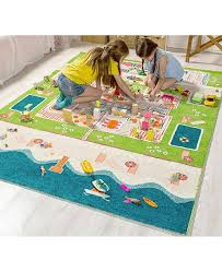Ivi Beach Houses 3d Kids Play Rug Reviews Home Macy S