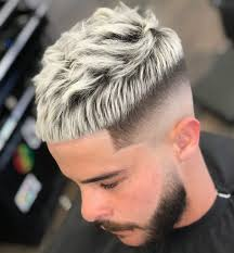 French Crop Haircut Style Fryzur Fryzury Fryzura