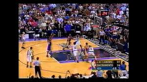2002 Playoffs LA Lakers@Sacramento Game 7 HIGHLIGHTS - YouTube