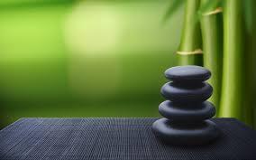 bambou zen galet wallpaper fond ecran hd
