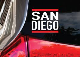 Reppin San Diego California Vinyl Car Truck Jdm Lowrider Decal Sticker Custom Wish