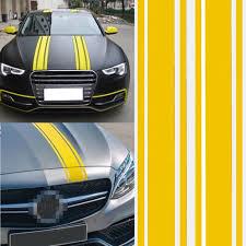 3 X 72 Vinyl Car Hood Exterior Sticker Decor Decal Strip Racing Stripe Pinstripe Decals Stickers Car Vehicle Truck Suv Van Self Adhesive Waterproof Diy Us Walmart Com Walmart Com