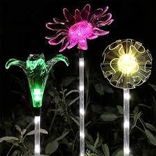 lucky rain solar garden stake lights