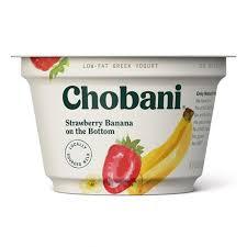 low fat greek yogurt strawberry banana