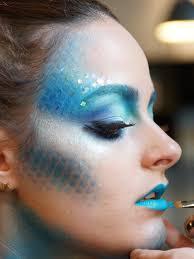 halloween makeup idea mermaid makeup