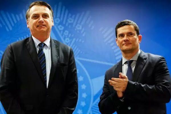 Resultado de imagem para Bolsonaro exalta Moro na ONU