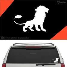 Lion Car Sticker Decal A1 Topchoicedecals