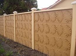 Concrete Block Fence Design Unique An Exclusive Design Of Nature Fence Design Concrete Block Walls Concrete Blocks