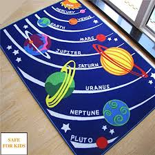 Kids Rug Educational Galaxy Planets Stars Rug Blue Solar System Shape Carpet And Rugs Kids Room Baby Playing Crawling Pad Carpets And Rugs Rug Bluekids Rug Aliexpress