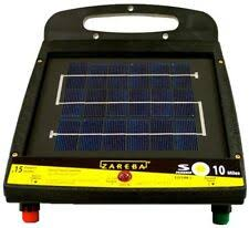 Solar Powered Electric Fence 10mile Livestock Charger Cattle Horse Farm Animal For Sale Online Ebay