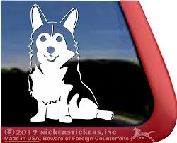Custom Corgi Dog Decals Stickers Nickerstickers