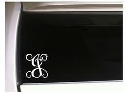 Letter J Initial Monogram Vinyl Sticker Car Decal 5 L9 Gift Vine Name For Sale Online