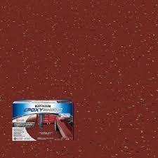 rust oleum shield 2 gal tile red