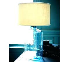 seeded glass table lamp ecocentrism org