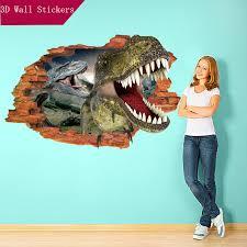 3d Dinosaur Wall Sticker
