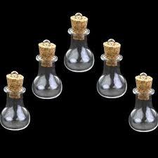 cork potion vials charms necklace