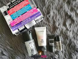 mac makeup ready skin kit a review