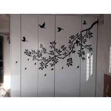 Decal Sticker Birds Mural Black Tree Branch With Flying Birds Wall Sticker Rs 350 Square Feet Id 21136820755