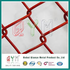 China Residential Privacy Slats Mystic Chain Link Fence Materials China Chain Link Fence Sports Ground Fence