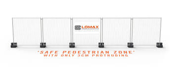 Smarter Temporary Fencing Feet Fence Bases Lomax