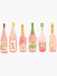 Champagne Stickers Redbubble