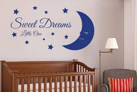 Sweet Dreams Little One Wall Stickers Vinyl Art Decals Ebay