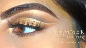 gold eyeshadow tutorial