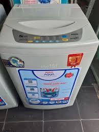 Thanh lý máy giặt Sanyo cửa trên 7kg giặt sấy êm - 76522656 - Chợ Tốt