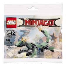 Đồ Chơi Lắp Ráp LEGO Rồng Máy Xanh Lá Cây Mini 30428