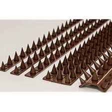 The Cactus Cat Intruder Deterrent Repellent Wall Fence Spikes Pack Of 10 4 5m To 13 5m Brown Amazon Co Uk Diy Tools