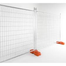 Rapidmesh 240 X 210cm Galvanised Steel Temp Fence Panel Bunnings Warehouse