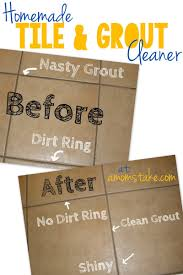 homemade tile and grout cleaner a mom