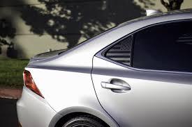 American Flag Quarter Window Decal 2014 2019 Lexus Is Premium Auto Styling