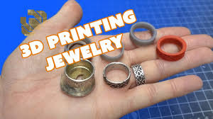 3d printing and metal casting jewelry