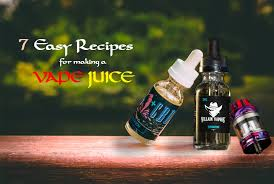 7 easy recipes for making a vape juice