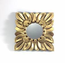 small gold mirror for wall decorgold