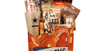 dallas cowboys nfl gift basket grocery
