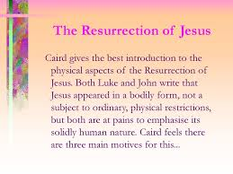 The Importance Of The Resurrection To The Author Of Luke's Gospel ...