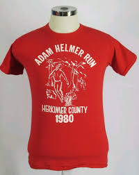 Vintage 80s Adam Helmer Run, Men's Fashion, Clothes, Tops on Carousell