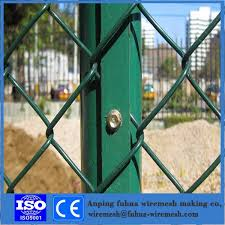 China 12 Gauge Pvc Coated Hexagonal Chain Link Fence With Posts And Accessories Photos Pictures Made In China Com