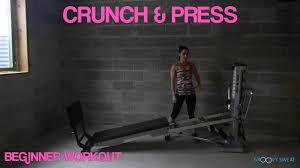 week 2 beginner fitness routines on