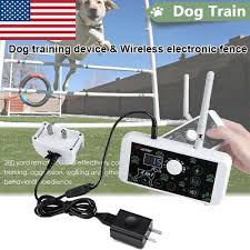 2in1 Wireless Dog Fence Wireless Pet Containment System Rechargeable Waterproof 715538017375 Ebay