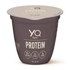 plain yq high protein yogurt made
