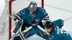 Aaron Dell, Sharks silence Flyers