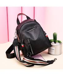 new style pu soft leather shoulder bag