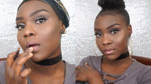 makeup tutorial for beginners dark skin