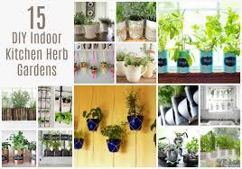15 diy indoor kitchen herb gardens