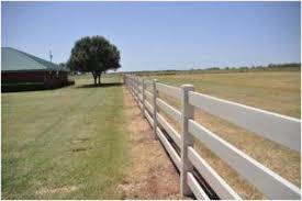 The Ease Of Vinyl Horse Fence Installation Fence Supply Online