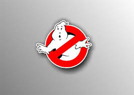 Ghostbusters Movie Smashed Wall Decal Graphic Wall Sticker Art Mural H557