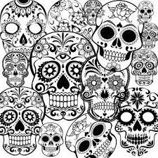 Sugar Skulls Kleurplaten Kleurplaten Voor Volwassenen Kleuren